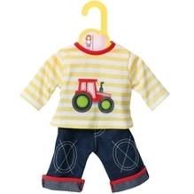 Zapf BABY born® Kleider Kollektion Dolly Moda Shirt mit Hose, Größe 30-36cm