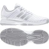 Adidas Tennisschuh Damen BARRICADE COURT W weiß/silver DB1746