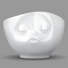 Schale 'küssend' weiß 500 ml, 58-Products 010301