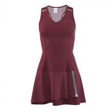 Tenniskleid HEAD Performance dunkelrot/silber 814028