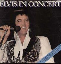 Presley Elvis, In Concert, Schwedische 2 LP orange