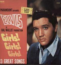 Presley Elvis, Girls ! Girls ! Girls ! - MINT LP