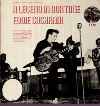 Cochran Eddie, A Legend In Our Time, rare U.P. LP
