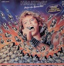 Hallyday Johnny, Palais des Sports 1982, France 2 LP