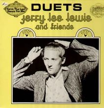 Lewis Jerry Lee, and Friends - Duets, yellow vinyl
