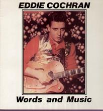Cochran Eddie, Words and Music - Rockstar 1005 LP