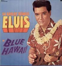 Presley Elvis, Blue Hawaii, Club LP different Cover
