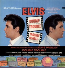 Presley Elvis, Double Trouble, orange label LP