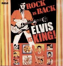 Presley Elvis, white label, Rock Is Back,CAP 3 South Africa LP