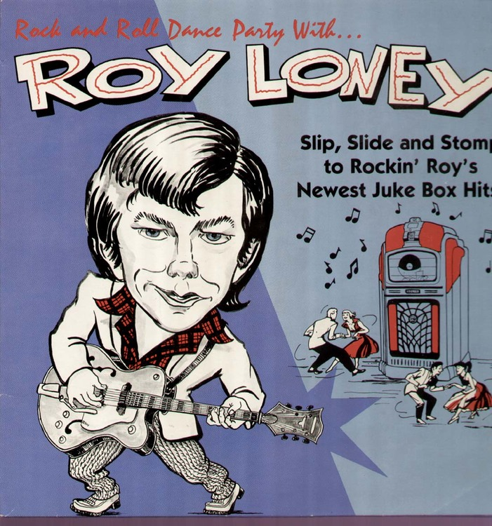 Loney Roy, Rock and Roll Dance Party LP 1982