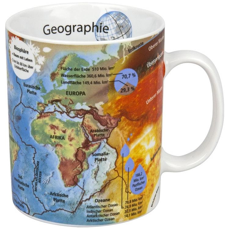 """Könitz Wissensbecher - """"Geografie"""""""