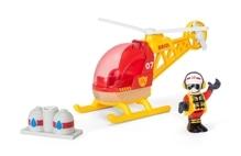 BRIO 33797000 Feuerwehr-Hubschrauber