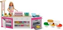 Mattel FRH73 Barbie Deluxe Küche Spielset & Puppe