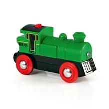 BRIO 33595000 Speedy Green Batterielok