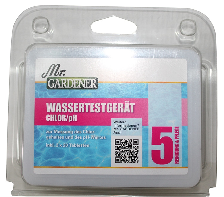 Wassertestgerät Chlor/pH