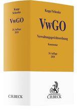 Verwaltungsgerichtsordnung VwGO, Kommentar | Kopp, Ferdinand O.; Schenke, Wolf-Rüdiger