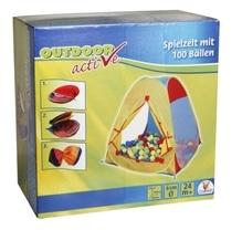 Outdoor active Zelt mit 100 Bällen