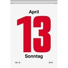BRUNNEN Abreißkalender Nr.4 1070304 6,5x9,8cm 1T/1S