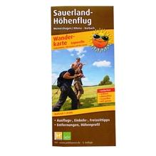 Wanderkarte 'Sauerland Höhenflug Meinerzhagen/Altena – Korbach'