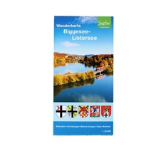 Wanderkarte 'Biggesee - Listersee'