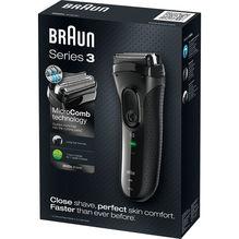Braun Series 3 3020 Rasierer mit Akku-/Netzbetrieb und 3-fach Schersystem 3020S