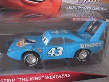64107 Carrera Go 143 Disney-Pixar Cars Strip The King Weathers