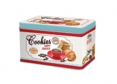 Keksdose 'Coffee & Cookies blue'