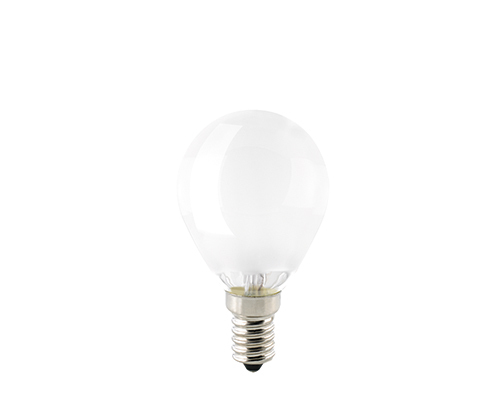 LED- Lampe Matt, Filament, Tropfenform, Kugel