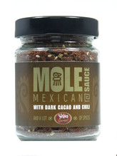 Mole Mexican Sauce mit Kakao und chili