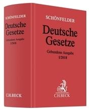 Schönfelder Deutsche Gesetze, gebundene Ausgabe ohne Fortsetzung, Ausg. I/2018