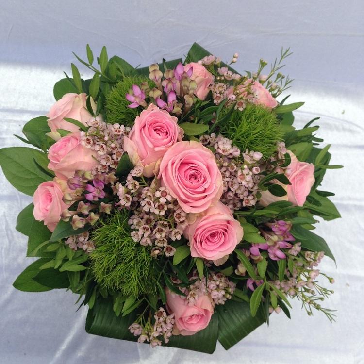 Blumen & Besonderes:Strauß rosa