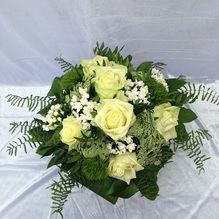 Blumen & Besonderes:Strauß weiß