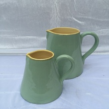 Blumen & Besonderes:Keramik Krug gross