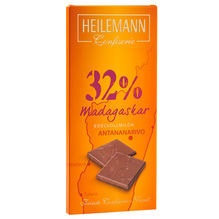 Heilemann 'Madagaskar 32%' Edelvollmilch-Schokolade, 80g