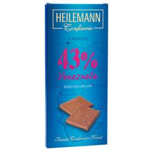 Heilemann 'Venezuela 43%' Edelvollmilch-Schkolade, 80g