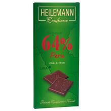 Heilemann 'Peru 64%' Edelbitter-Schkolade, 80g