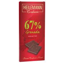 Heilemann 'Grenada 67%' Edelbitter-Schokolade, 80g