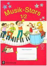 Musik-Stars - 1./2. Schuljahr, Übungsheft mit Lösungen + Audio-CD