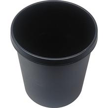 helit Papierkorb H6105895  31x32cm 18l rund Kunststoff schwarz