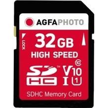 AgfaPhoto Speicherkarte SDHC 10427 High Speed Class 10 UHS-1 32GB
