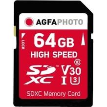 AgfaPhoto Speicherkarte SDXC 10428 High Speed Class 10 UHS-1 64GB