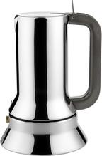 Alessi Espressomaschine aus Edelstahl - Induktion. 10 Tassen. - 9090 in der Schwanthaler Galerie in Gmunden kaufen