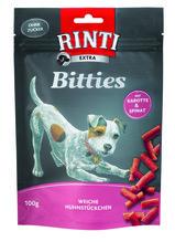 Rinti Extra Bitties Huhn mit Karotte und Spinat 12x100g