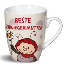 Nici Porzellan-Tasse 'Beste Schwiegermutter'