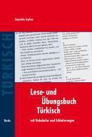 Lese- und Übungsbuch Türkisch   Seyhan, Hayrettin