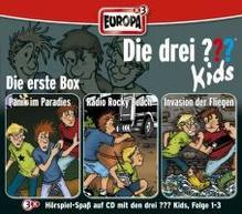 Die drei ??? Kids. 3er-Box Folgen 1-3 (drei Fragezeichen) 3 CDs