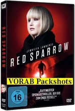 Red Sparrow, 1 DVD