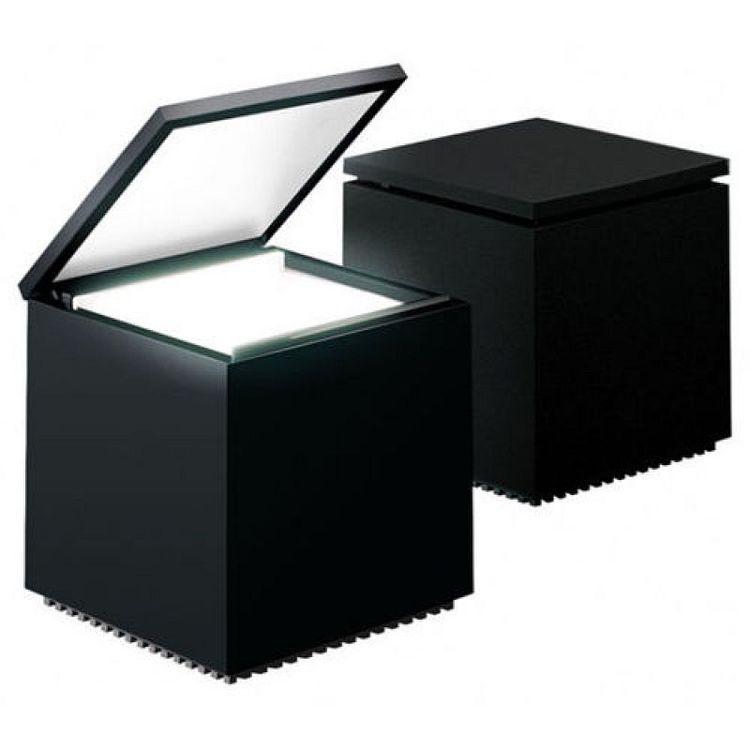 Cuboluce schwarz nero black noir LED 138L - F. Bettonica/M. Melocchi@Cini & Nils Neu