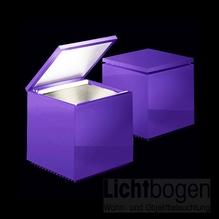 Cini nils cuboled violett logo lichtbogen