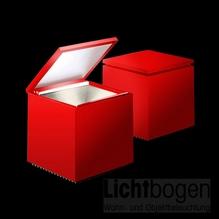 Cini nils cuboled rot logo lichtbogen